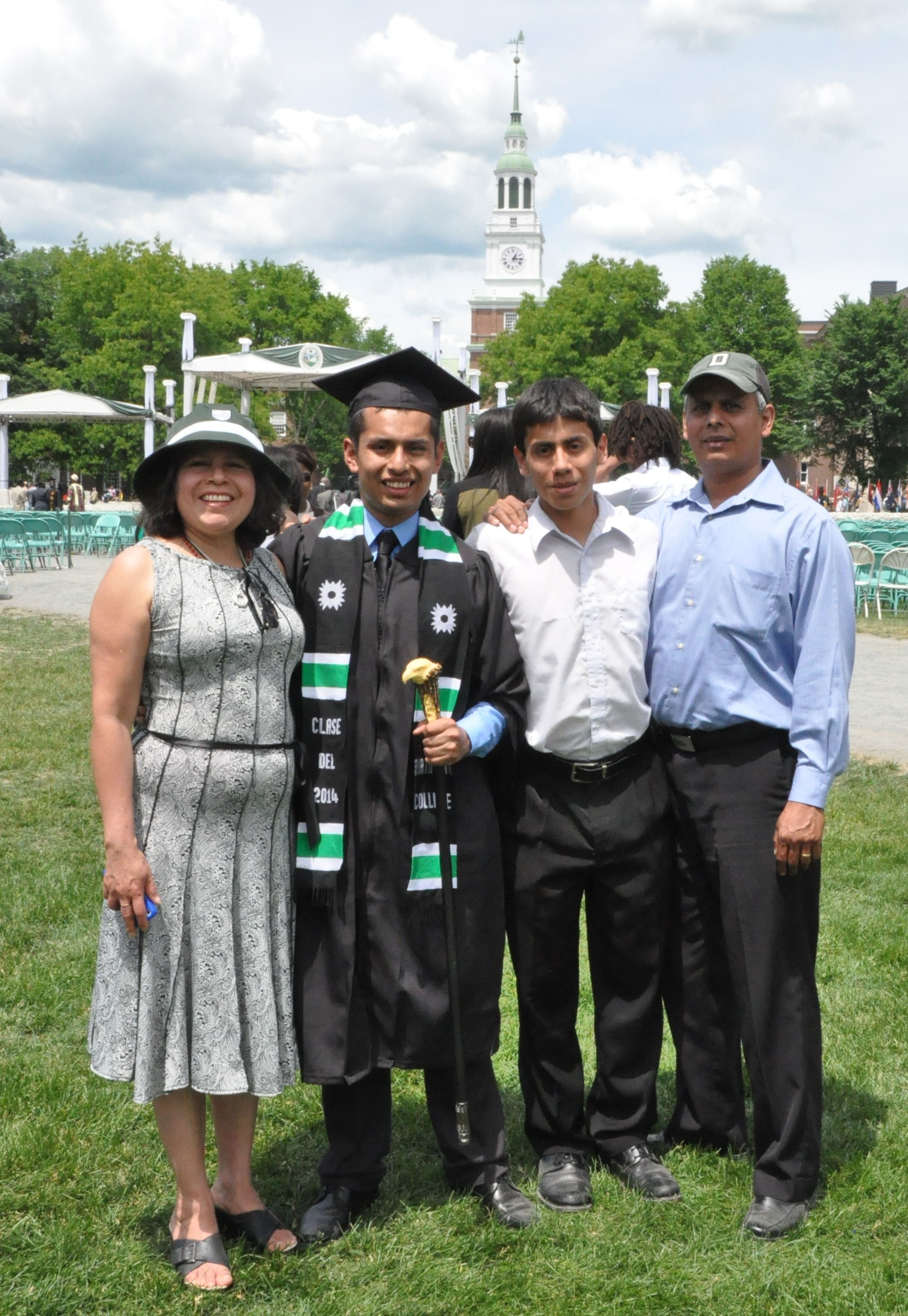 Irvin's Graduation from Dartmouth
